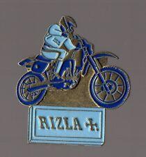 pin's Rizla (papier cigarette) / moto cross