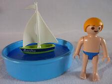 PLAYMOBIL accessoires personnage vacances piscine loisirs enfant bassin bateau