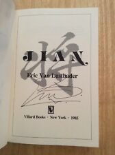 SIGNED by Eric Van Lustbader - Jian : A Novel HC 1st/1st + Pic