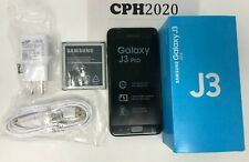 Unlocked Samsung Galaxy J3 (2018) SM-J337A 16GB Black GSM WORLD Phone