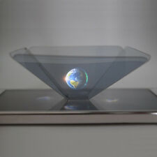 HOLOGRAPHIC PROJECTOR MOBILE SMART PHONE HOLOGRAM 3D FOR IPHONE SAMSUNG S7 EDGE