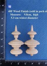 COPPIA di orologio/mobili ornamenti stile 48 F