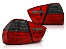 LED REAR TAIL LIGHTS LDBMC6 BMW 3 SERIES E90 2005 2006 2007 2008 RED SMOKE
