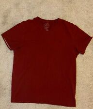 AMERICAN EAGLE AE MEN'S V NECK T SHIRT ---- LARGE