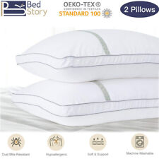 BedStory Luxury Ultra Soft Bed Pillows for Sleeping Set of 2 Pack Hotel Pillow