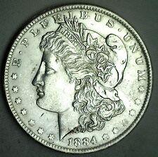 1884 O Morgan Silver BU One Dollar $1 Coin Uncirculated New Orleans #JC-2