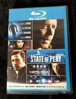 Video DVD - STATE OF PLAY - Blu-Ray - LIKE NEW (LN) WORLDWIDE