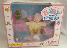 *Rare Zapf Creation Mini Baby Born Diaper Accessories Set BNIB**