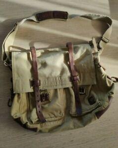 Belstaff 554 - 556 Colonial BAG, Canvas, Malenotti era, Rare