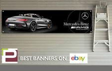 AMG GT Mercedes Benz Banner for Workshop, Garage, Office, XL SIZE 2m x 0.5m