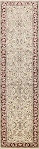 Excellent Vintage Vegetable Dye Kirman Chinese Runner Rug Hand-knotted 3'x12'