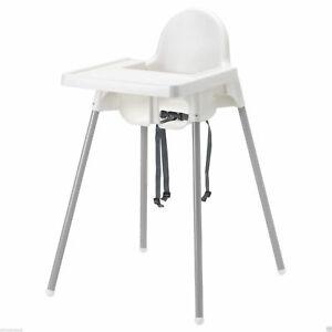"""IKEA Kinderhochstuhl """"ANTILOP"""" mobiler Hochstuhl Babystuhl Babyhochstuhl Tablett"""