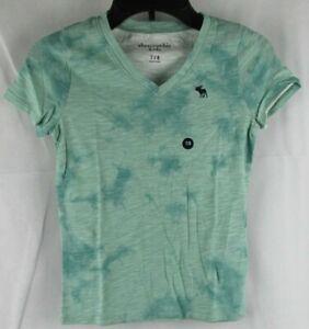 Abercrombie Kids V Neck Short Sleeve T-Shirt Size 7/8
