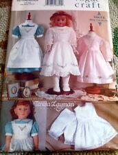 "Vogue 9984 663 18"" Doll Heirloom Clothes Vintage Pattern by Tersesa Layman Uncut"