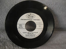 Roger Douglass, Church Bells Played Me The Blues, Mercury 72017, PROMO, 45 RPM