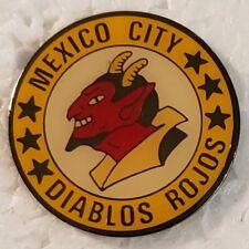 Negro League MEXICO CITY RED DEVILS Logo Lapel PIN