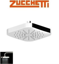 "Zucchetti ""Soft"" Z94183 Wall or Ceiling Mounted ABS Square Shower Head NIB"