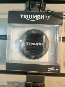 Genuine Triumph A9610261 - ACG Badge, Ribbed, Dark