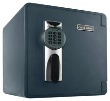 First Alert - 1.3 Cu. Ft. Fire- and Water-Resistant Safe - Silver