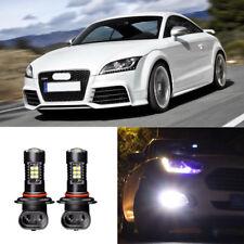 2x Canbus H11 3030 21SMD LED DRL Daytime Running Fog Lights Bulbs For Audi TT RS