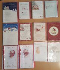 *JOB LOT* Christmas Cards - Grandad, Nan, Nanna, Grandma (Mixed) (58 Cards)
