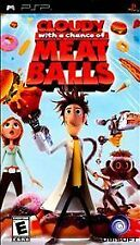 Cloudy With a Chance of Meatballs (Sony PSP, 2009) Complete  Fast Shipping !!