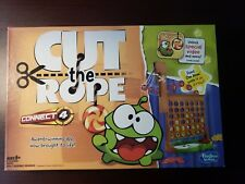 Cut The Rope Connect 4 Board Game Hasbro EUC COMPLETE