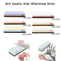 Grit Double-Side Whetstone Knife Sharpener Water Stone Sharpening