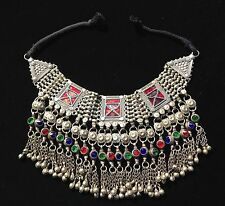 Fabulous Vintage Afgani Tribal Necklace