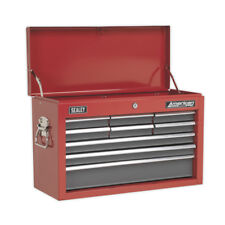 AP22509BB Topchest 9 Drawer with Ball Bearing Runners - Red/Grey