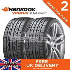 2x 205 40 17 Hankook Ventus V12 Evo 2 K120 84w Xl (2 neumáticos) 205/40r17 una adherencia en superficie mojada
