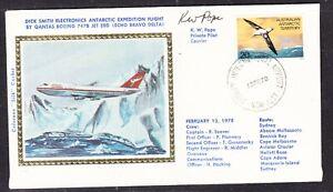 Australia AAT 1979 Dick Smiths QANTAS Flight Silk Cover