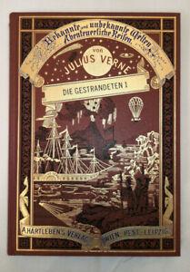 Jules Verne - Die Gestrandeten *Prachtausgabe Edition Hartleben