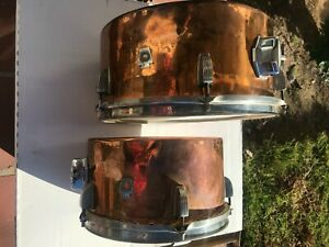 WFL Copper Timbale Set Nickel Hardware