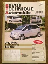 Revue Technique Automobile OPEL Meriva diesel 1,3 CDTi (01/2006 Jusqu'à 06/2010)