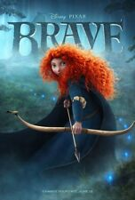 BRAVE MOVIE POSTER 2 Sided ORIGINAL FINAL 27x40 KELLY MACDONALD
