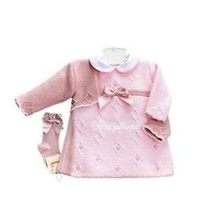 RP1299 Spanish Designer Romany Traditional Baby Girls Clothes Dress Set Outfit