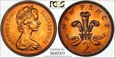1971 GREAT BRITAIN 2 NEW PENCE PCGS PR65RD TONED ONLY 7 GRADED HIGHER
