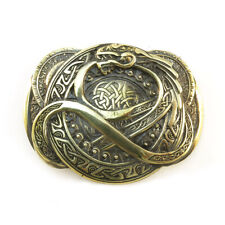 buckle, Dragons of Scandinavia, Belt buckle Jormungand, World Serpent