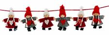 Vendita 4ft Nordic Boy Girl Feltro Natale Ghirlanda Festa Decorazione Da Appendere Natale
