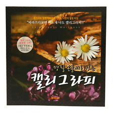 Korean Calligraphy Practice Copybook Hand Writing Hangul Good for Card Making L2