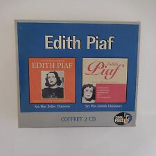 COFFRET 2 CD - PIAF EDITH (CD)