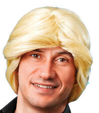 Mens Blonde Wig 70'S Retro Disco Diva Stag Do Party Fancy Dress