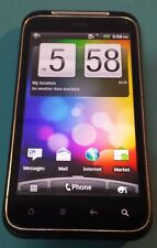 HTC Droid Incredible S Black SaksTel Carrier Good Condition Bad Charge Port