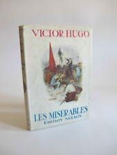 1952 Les Miserables par Victor Hugo