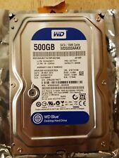 "Western Digital WD Blue 500GB Internal 7200RPM 3.5"" (WD5000AAKX) HDD"