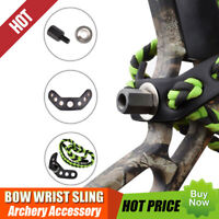 1X Bow Wrist Sling Green Durable For Compound Bow Hunting Shooting USA warehouse