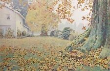"""Mike Pease """"Fall Morning"""" Signed Numbered Lithograph Art Print leaves Make Offer"""