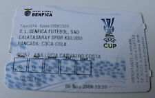 Ticket for collectors EC Benfica Lisboa Galatasaray SK 2008 Portugal Turkey