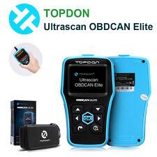 Topdon Ultrascan OBDCAN Elite Diagnostic SRS ABS Scanner Tool Better Than AL619